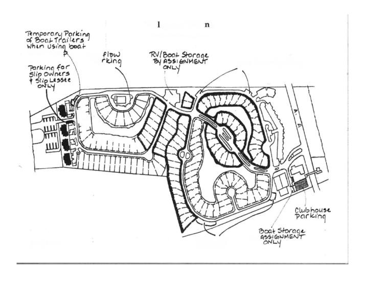 VOV Parking Lot Map